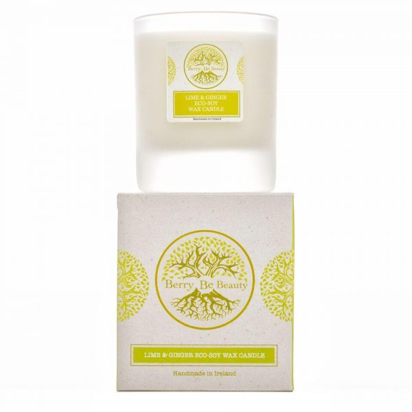 Lime & Ginger Soy Wax Candle