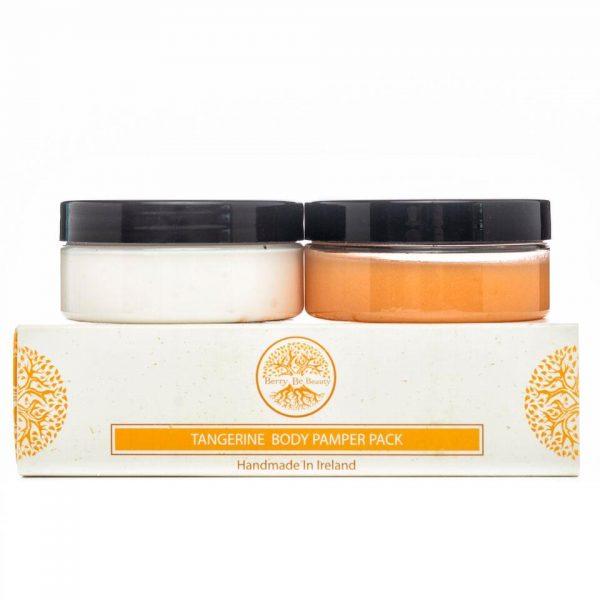 Tangerine Travel Pamper Pack
