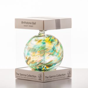 August Birth Stone Ball 10cm