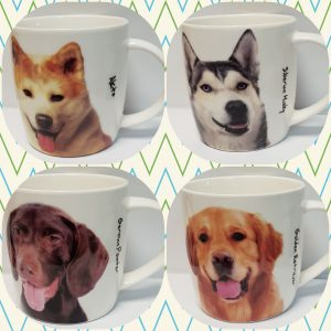 Porcelain Pet Mugs